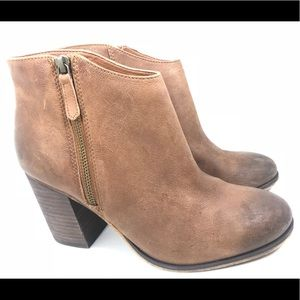 Nordstrom BP Leather Ankle Boots Booties 9.5M